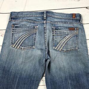 Women's 7 For All Mankind Size 29 Dojo Boot Jeans